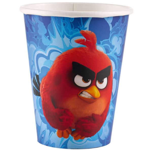 "Puodeliai ""Angry Birds"" (8 vnt./250 ml)"