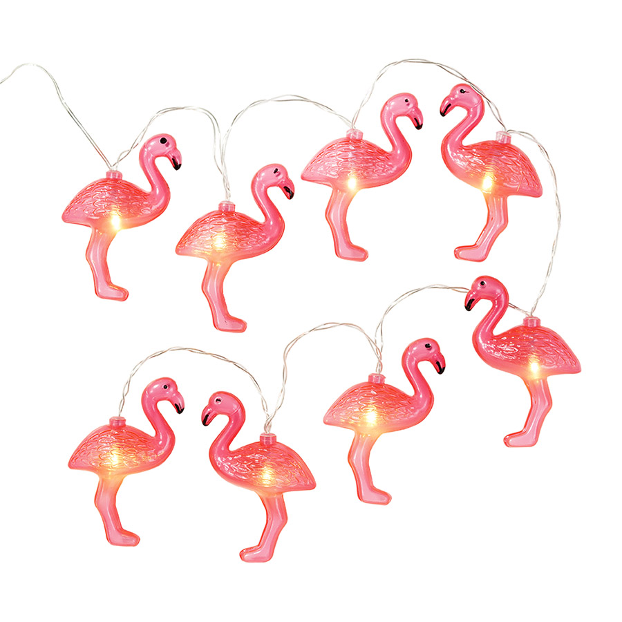 "LED girlianda ""Flamingai"" (1 m)"