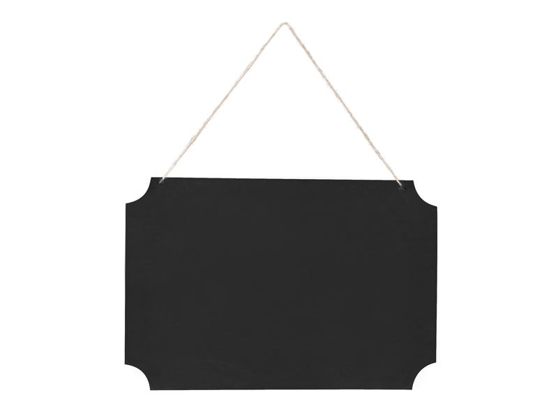 Kreidinė lentelė, kabanti (45x30 cm)