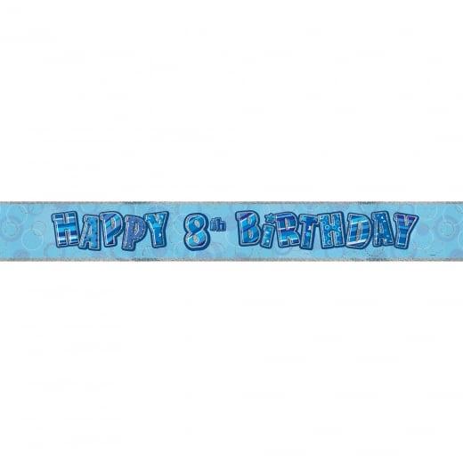 "Girlianda ""Happy 8th birthday"" (3,6 m)"