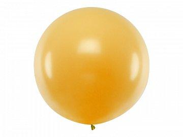 Didelis balionas, aukso spalvos (1 m)