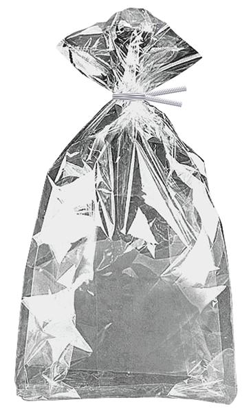 Dovanų maišeliai, sidabriniai blizgūs (10 vnt.)