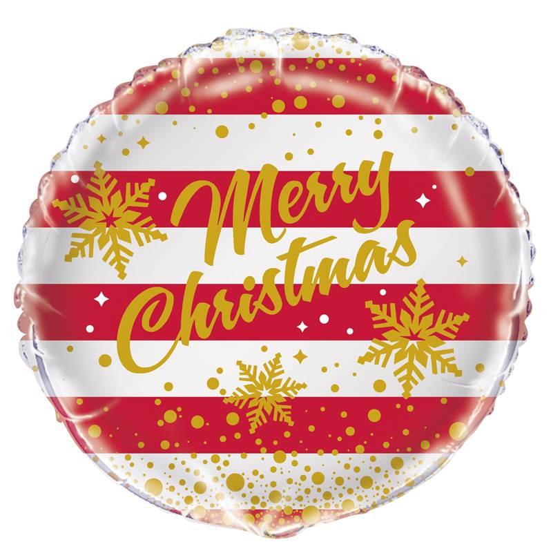 Merry Christmas Picture.Folinis Balionas Merry Christmas 45 Cm