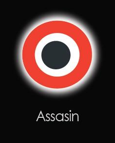 """Akių lęšiai """"ASSASIN"""" (1 dienos)"""