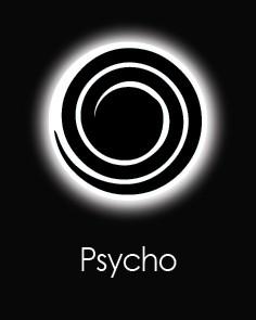 """Akių lęšiai """"PSYCHO"""" (90 dienų)"""