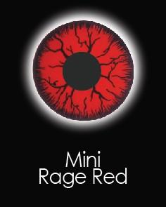 """Akių lęšiai """"SCLERA RED RAGE"""" (1 dienos)"""