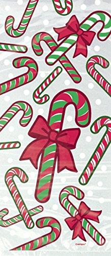 """Dovanų maišeliai """"Kalėdiniai saldainiai"""" (20 vnt.)"""