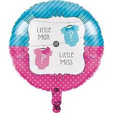 "Folinis balionas ""Little Man ? Little Miss"" (45 cm)"