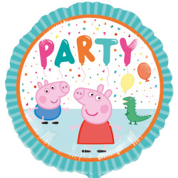 "Folinis balionas ""Peppa Pig party"" (43 cm)"