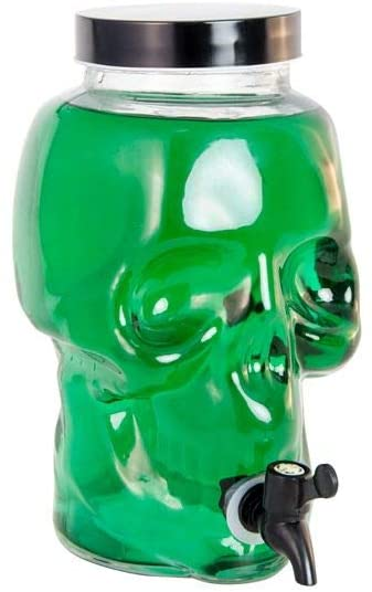 """Indas gėrimams su kraneliu """"Kaukolė"""" (19X15,5X27 cm)"""