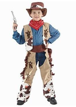 """Karnavalinis kostiumas """"Kaubojus"""" (120 - 130 cm.)"""