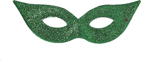 """Kaukė - domino """"Charleston""""/žalia"""