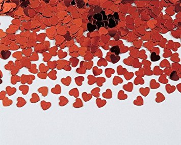 "Konfeti ""Raudonos širdelės"" (14 g)"