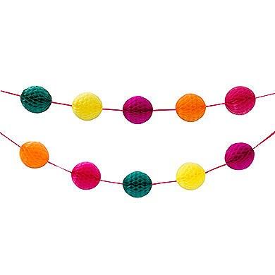Koriukų girlianda, spalvota (2,13 m)