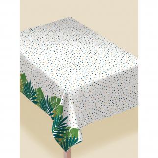 "Vandeniui atspari staltiesė ""Tropikų lapai"" (132x228 cm)"