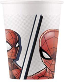 "Puodeliai ""Spider Man"", kompostuojami (8 vnt./200 ml)"
