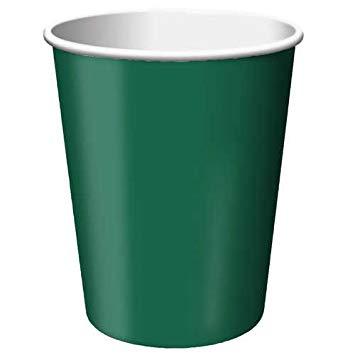 Puodeliai, tamsiai žali (24 vnt./266 ml)