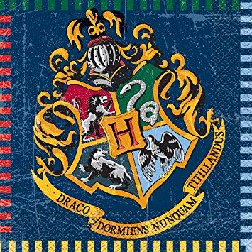 """Servetėlės """"Haris Poteris"""" (16 vnt.)"""