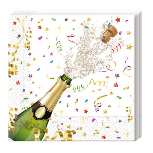 "Servetėlės ""Šampanas"" (20 vnt.)"