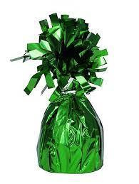 Svarelis balionams, žalias