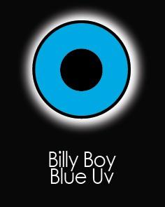 """Akių lęšiai """"BILLY BOY BLUE UV"""" (90 dienų)"""
