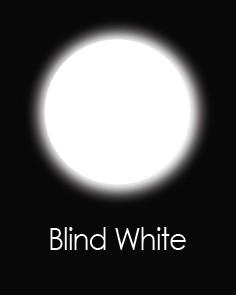 """Akių lęšiai """"BLIND WHITE"""" (1 dienos)"""