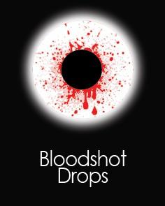 """Akių lęšiai """"BLOOD SHOT DROP"""" (1 dienos)"""