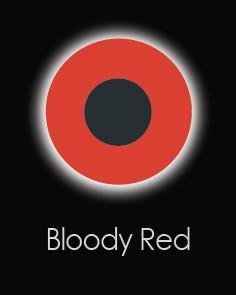 """Akių lęšiai """"BLOODY RED"""" (90 dienos)"""