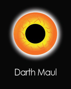 """Akių lęšiai """"DARTH MAUL"""" (1 dienos)"""