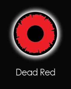 """Akių lęšiai """"DEAD RED"""" (1 dienos)"""