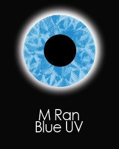 """Akių lęšiai """"M RAN BLUE UV"""" (90 dienų)"""