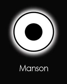 """Akių lęšiai """"MANSON"""" (90 dienų)"""