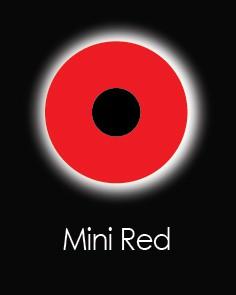 """Akių lęšiai """"MINI SCLERA RED"""" (1 dienos)"""