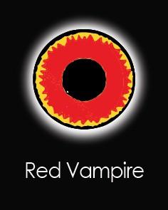 """Akių lęšiai """"RED VAMPIRE"""" (1 dienos)"""