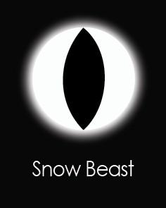"""Akių lęšiai """"SNOW BEAST"""" (1 dienos)"""
