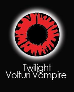 """Akių lęšiai """"TWILIGHT VOLTURI VAMPIRE"""" (1 dienos)"""