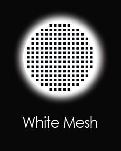 """Akių lęšiai """"WHITE MESH"""" (1 dienos)"""