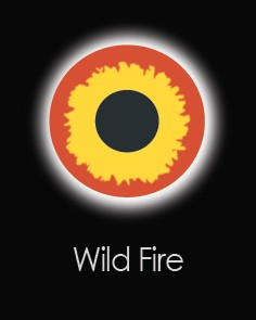 """Akių lęšiai """"WILD FIRE"""" (1 dienos)"""