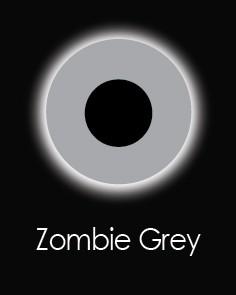 """Akių lęšiai """"ZOMBIE GREY"""" (1 dienos)"""