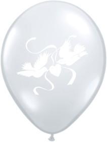 "Balionas ""Balti balandėliai"" / balti (28cm.)"