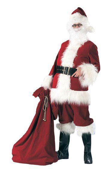 """Karnavalinis kostiumas """"Kalėdų senelis"""" (XXXL (168-190 cm.))"""