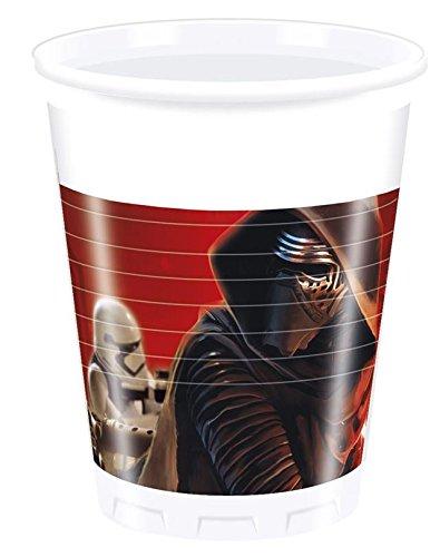 """Plastikiniai puodeliai """"Star Wars"""" (8 vnt./200 ml)"""