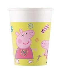 "Puodeliai ""Peppa Pig"" (8 vnt./200 ml)"