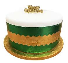 Torto padėklas, auksinis (25 cm) 1