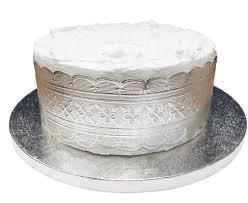Torto padėklas, sidabrinis (35 cm) 1